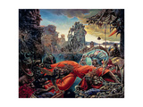Temptation of St. Anthony, 1945 Giclée-trykk av Max Ernst