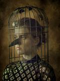 Lady Bird Fotografisk tryk af Maria Kanevskaya
