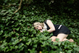Lying in the Ivy Photographic Print by Phil Payne