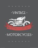 Vintage Motorcycles Prints