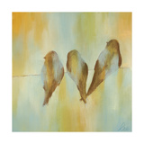 Bird Trio II Premium Giclee Print by Jeni Lee