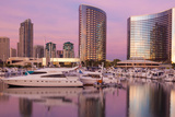 San Diego Waterfront I Photographic Print by Kathy Mahan