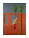 At the First Clear Word, 1923 Giclée-trykk av Max Ernst