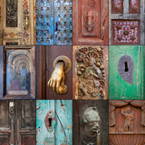 On the Door III Photographic Print by Kathy Mahan