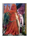 Max Ernst - The Robing of the Bride, 1940 Digitálně vytištěná reprodukce