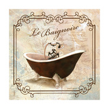 Femme Tub Premium Giclee Print by Gregory Gorham