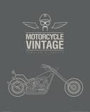 Vintage Motorcycles Posters
