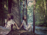 Forest Twins Photographic Print by Maria Kanevskaya