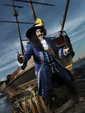 Captain Hook No.1 Photographic Print by Alex Maxim
