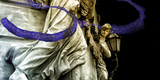 A Statue with Veil, Rome Photographic Print by Dolores Smart