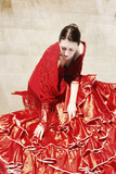 Flamenco V Photographic Print by Eugenia Kyriakopoulou