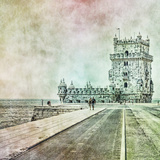 Lisbon Photographic Print by Eugenia Kyriakopoulou