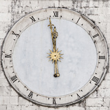 Clock Photographic Print by Eugenia Kyriakopoulou