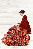 Flamenca Photographic Print by Eugenia Kyriakopoulou