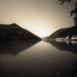 Danube Photographic Print by Wolfgang Simlinger