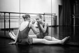 Danseur De Ballet Fotografie-Druck von Florence Menu
