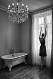 A Le Fenêtre Fotografie-Druck von Florence Menu