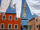 Laundry Day, Burano Photographic Print by Dolores Smart