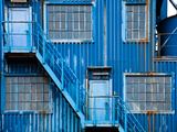 Blue Elevation Photographic Print by Max Hertlischka