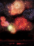 Fireworks Photographic Print by Wolfgang Simlinger