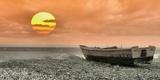 Boat Trip at Sunset Photographic Print by Ronaldo Pichardo