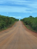 Bauxite Road Photographic Print by Ronaldo Pichardo