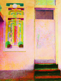 Doorway, Miami Beach Photographic Print by Dolores Smart