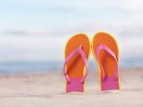 Flip-Flops Photographic Print by Alex Maxim