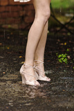 Legs in the Rain Photographic Print by Phil Payne