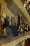 Girl in the Library Photographic Print by Jun Yamaguchi