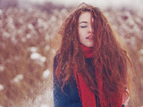 Cold Photographic Print by Tatiana Koshutina