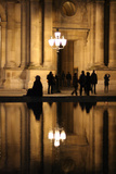 Au Louvre Photographic Print by Cathy Baillet