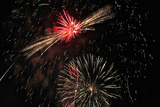 Fireworks Photographic Print by Ron Hendricks