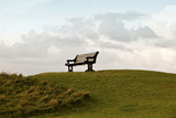 Bench and Clouds Photographic Print by Eugenia Kyriakopoulou