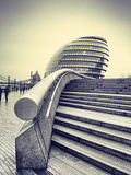 London City Hall Photographic Print by Eugenia Kyriakopoulou