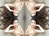 Double Symmetry Photographic Print by Svetlana Muradova