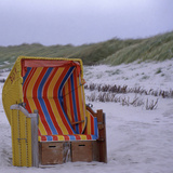 Beach Basket Photographic Print by Ursula Kuprat