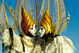 Couple in Venetian Costume 6 Photographic Print by Ursula Kuprat