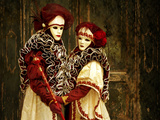 Couple in Venetian Costume 5 Photographic Print by Ursula Kuprat