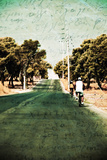 Riding on the Bike Photographic Print by Antonis Gourountis