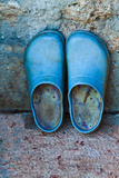 Blue Shoes Photographic Print by Max Hertlischka
