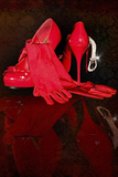 Red Stilettos 1 Photographic Print by Svetlana Sewell