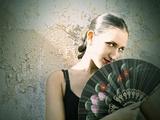 Spanish Fan II Photographic Print by Eugenia Kyriakopoulou