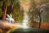 Pegasus and River Photographic Print by Svetlana Sewell