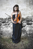 The VIolin Player Photographic Print by Eugenia Kyriakopoulou