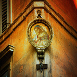 Shrine in Rome, Italy Photographic Print by Dolores Smart