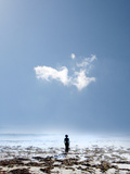 Woman Cloud Photographic Print by Gary Waters