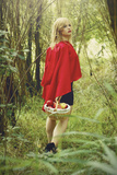 Red Riding Hood No.3 Photographic Print by Sabine Rosch