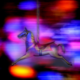 Fairground Horse Photographic Print by Gary Waters