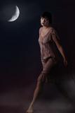 Woman at Night Photographic Print by Ricardo Demurez